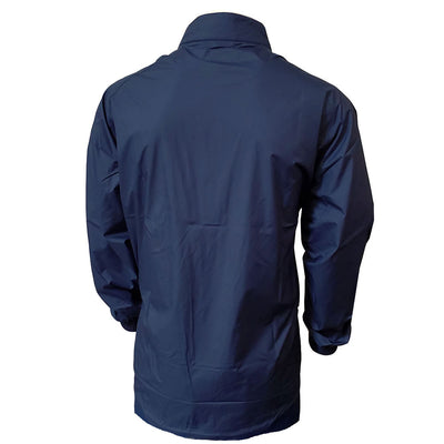 Donald Ross Mens Wind / Rain Full Zip Long Sleeve Jacket - NAVY