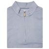 Mens Sleeveless 1/2 Zip Mock-neck Fleece - GREY