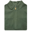 Mens Sleeveless 1/2 Zip Mock-neck Fleece - OLIVE
