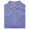 Mens Sleeveless 1/2 Zip Mock-neck Fleece - STEEL BLUE