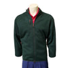 Donald Ross Signature Fleece Jacket - MALLARD GREEN