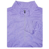 Mens 1/2 Zip Lightweight Long Sleeve Performance Layer - BLUE IRIS