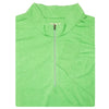 Mens 1/2 Zip Lightweight Long Sleeve Performance Layer - IRISH GREEN