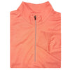 Mens 1/2 Zip Lightweight Long Sleeve Performance Layer - PUMPKIN