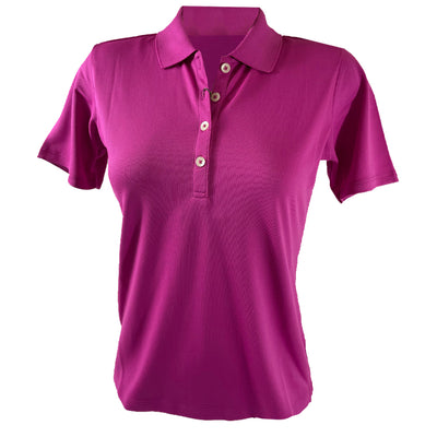 Donald Ross Women's Polo - Bright Pink