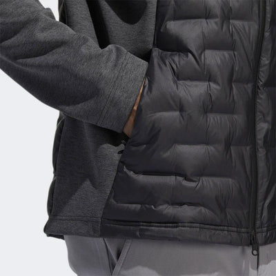 ADIDAS MENS FROSTGUARD INSULATED DOWN JACKET - BLACK