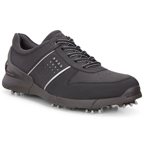 ECCO Men's Base One Golf Shoes - Black Mimosa