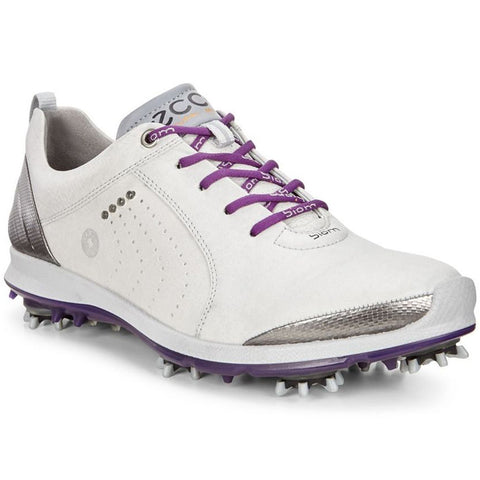 Ecco Women's BIOM G2 Shoes - Concrete / Imperial Purple