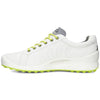 ECCO Men's Biom Hybrid Golf Shoes - White/Lime Punch