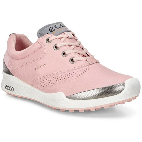 ECCO Women's Biom Hybrid HM Golf Shoes - Silver Pink/Silver Pink