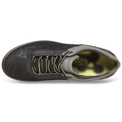 ECCO Women's Cage-Evo Golf Shoes - Black Textile