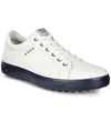 ECCO Men's Casual Hybrid Golf Shoes - White/Marine