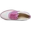 ECCO Women's Classic Hybrid Golf Shoes - White / Candy