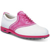 ECCO Women's Classic Hybrid Golf Shoes - White / Candy - IN STOCK