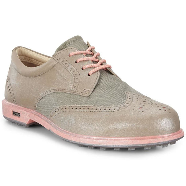 ECCO Women's Classic Hybrid 3 Golf Shoes - Navajo Brown/Warm Grey