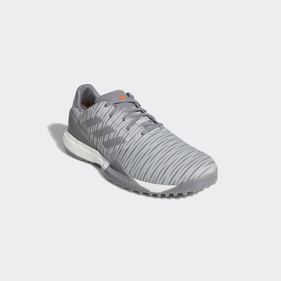 ADIDAS MEN'S CODECHAOS SPORT GOLF SHOES - GREY TWO / GREY THREE / SOLAR RED