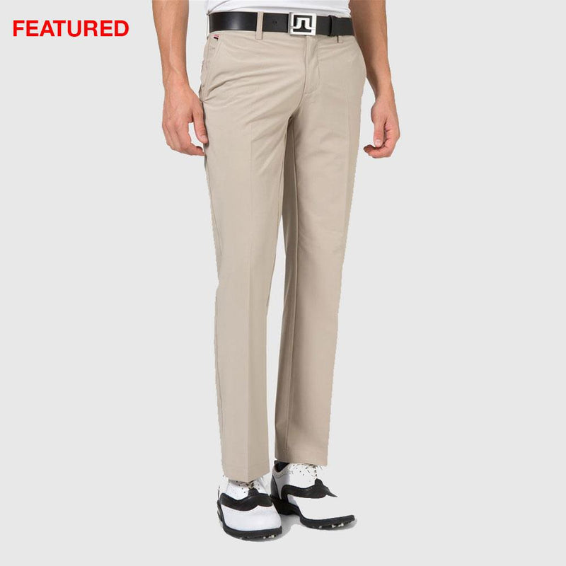 J.LINDEBERG Mens - ELOF Reg Fit Pants - SAND