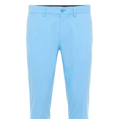 J.LINDEBERG MENS ELOF REG FIT PANTS - OCEAN BLUE