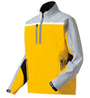 FootJoy DryJoys Tour XP Long Sleeve Rain Shirts - Yellow Gold/Grey/White/Black - Previous Season Style