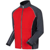 FootJoy Mens DryJoys Select Rain Jackets - Red/Black/Silver Previous Season