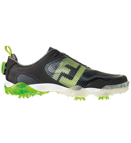 FootJoy Freestyle BOA Golf Shoes - Black/Lime Green - PREVIOUS SEASON