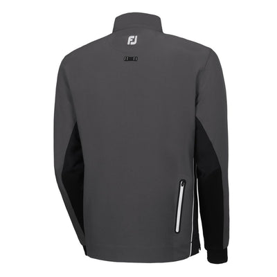 FootJoy Men's Wind Shell Pullover - CHARCOAL/BLACK