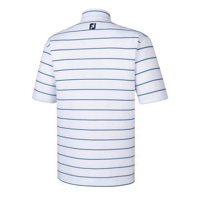 Footjoy Spun Poly Stripe Self Collar - White