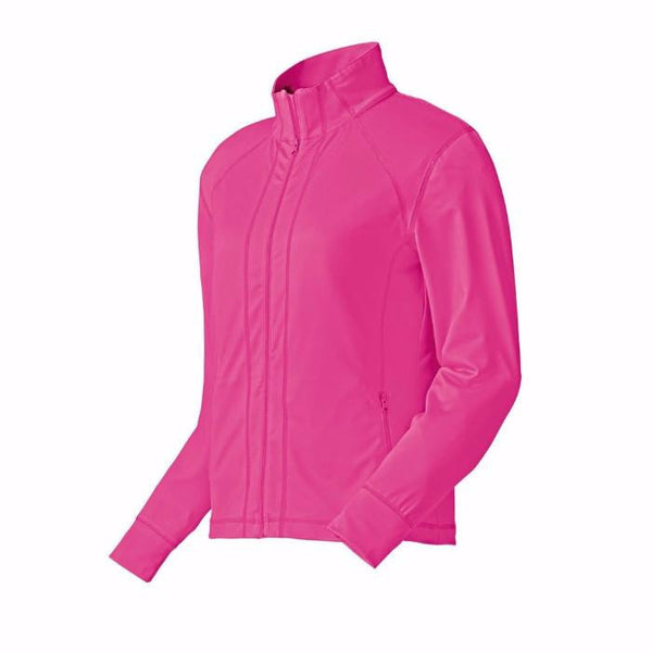 FootJoy Full-Zip Mid Layer Women - BERRY