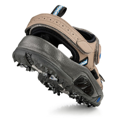 Footjoy Men's Golf Sandals - Factory Blemished-45318 - DARK TAUPE