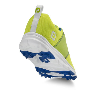 Footjoy Junior EnJoy Girls Golf Shoes - 48208 - LIME / SAPHIRE
