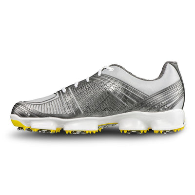 FootJoy Hyperflex II Golf Shoes - GREY/YELLOW - Factory Blemish