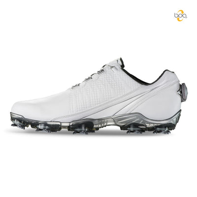Footjoy Mens D.N.A. BOA Golf Shoes -WHITE - Factory Blemish