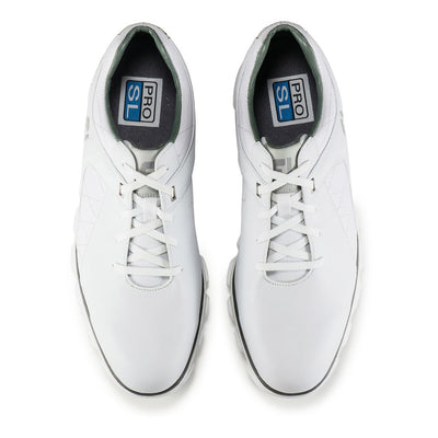 Footjoy Pro/SL Men's Golf Blemish Shoes - White/Silver