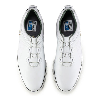 Footjoy Pro/SL  BOA Men's Golf Shoes - 53596 - WHITE