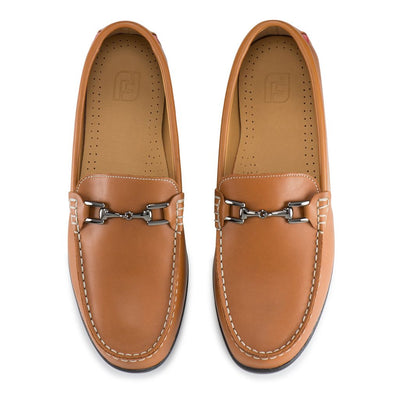 Mens Footjoy Club Casuals Buckle Loafer - Handsewn - Tan - Closeouts