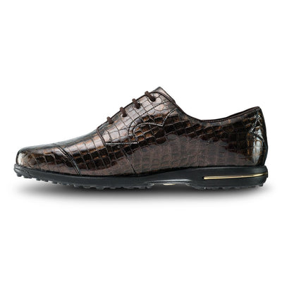 Footjoy Womens Tailored Collection - Bronze Croc Print - Closeouts