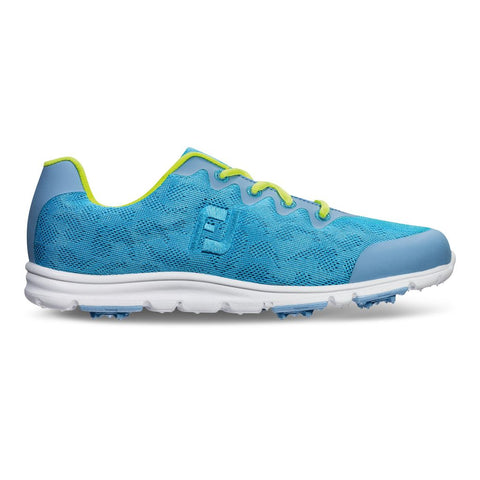 FootJoy enJoy Womens Golf Shoes - 95702 -Pool BLue - Closeouts