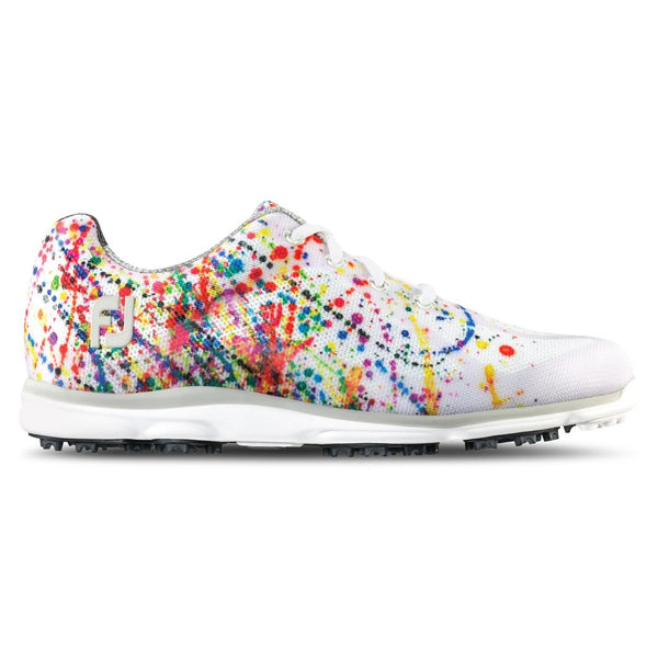 FootJoy 98012 Ladies emPower Golf Shoes - Paint Splatter - Closeouts