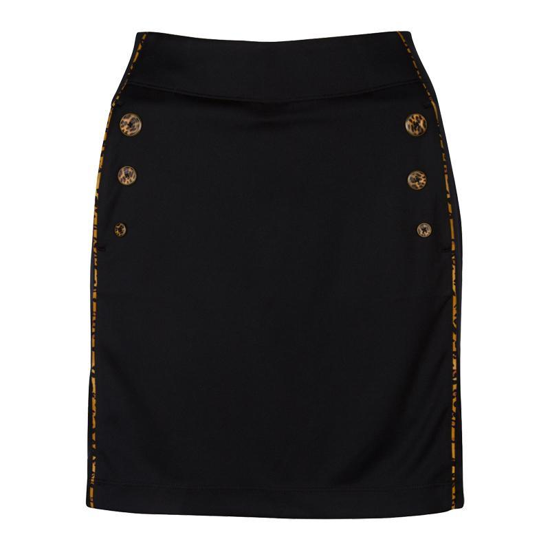 Greg Norman Women's Tiga Knit Skort - BLACK