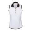 Greg Norman Women's KIERA Sleeveless - WHITE