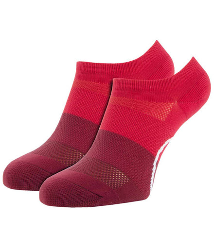 G/Fore Women's Low Cut Socks - Scarlet Blocked