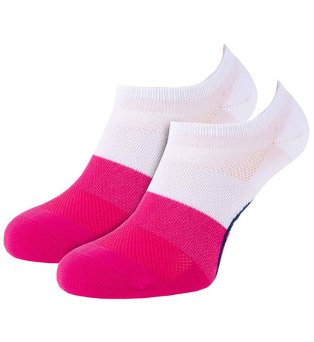 G/Fore Women's Low Cut Socks - Blocked Snow