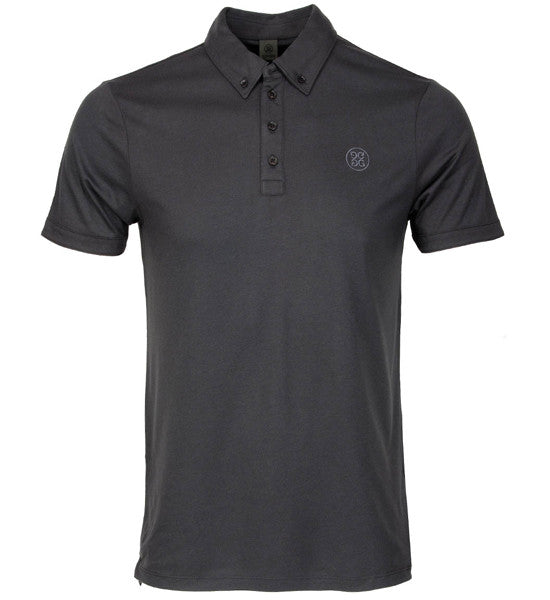 G/Fore Men's Essential Polos - Charcoal