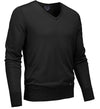 G/Fore Men's Refined Vee Neck Sweater - Onyx