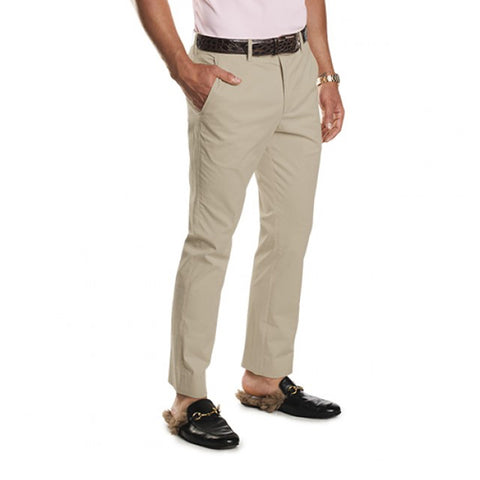 G/Fore Men's Straight Leg Stretch Chino - Sand
