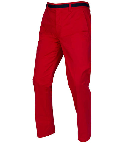 G/Fore Men's Straight Leg Stretch Trousers - Scarlet
