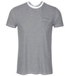 G/Fore Men's Striped Tee Polos - Onyx
