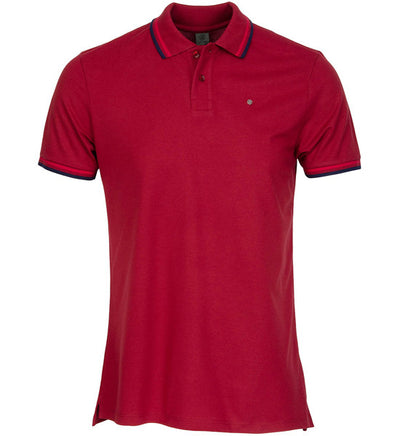 G/Fore Men's Tipped Polos - Berry