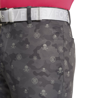 G/FORE MENS ICON CAMO SHORT - CHARCOAL  - SZ 32