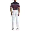 G/FORE MENS OMBRE STRIPED POLO - TWILIGHT  - SZ M